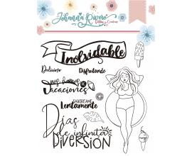Sello de Johanna Rivero - Inolvidable
