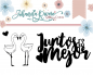 Mini Sello de Johanna Rivero - Juntos es Mejor