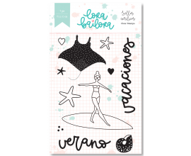 Roler Stamp de Lora Bailora col. Bali