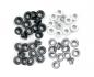 Kit de 60 eyelets de WeR Memory Keepers - Standart color Gris