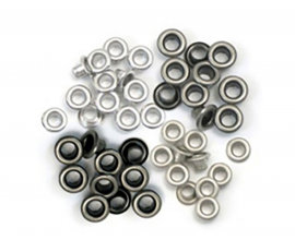 Kit de 60 eyelets - Brown