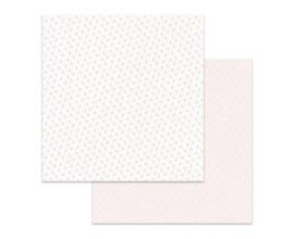 Papel de doble cara de Stamperia diseñado por Marisa Bernal col. Pink Soul - Capullos