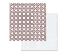Papel de doble cara de Stamperia diseñado por Marisa Bernal col. Pink Soul - Lunares