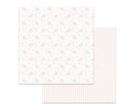 Papel de doble cara de Stamperia diseñado por Marisa Bernal col. Pink Soul - Rosecitas