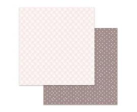 Papel de doble cara de Stamperia diseñado por Marisa Bernal col. Pink Soul - Flores
