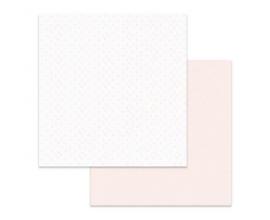 Papel de doble cara de Stamperia diseñado por Marisa Bernal col. Pink Soul - Corazoncitos