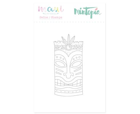 Mini sello de Mintopia col. Maui - Tiki