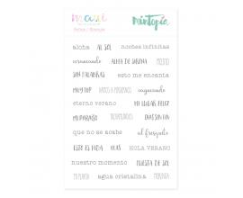 Kit de 6 papeles de Stamperia diseñados por Marisa Bernal- Winter Star