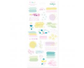 Pegatinas transparentes de Mintopia colección Maui