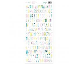 Alfabeto de Mintopia colección Maui