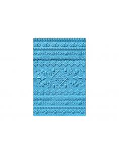 Placa de textura 3D Textured Impressions Crackle de Tim Holtz